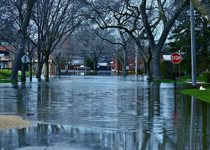 flooding cleanup in Scottdale